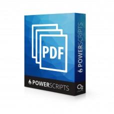 MultiPage PDF Import PowerScript for Adobe Illustrator